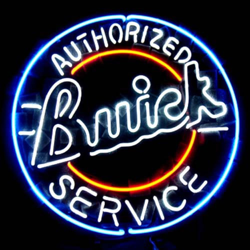 Buick Chevy GM US Auto Neon Sign