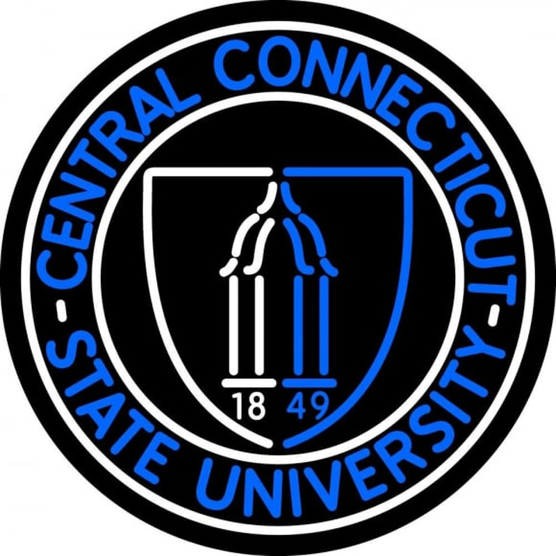 Central Connecticut State University Neon Sign Neon Sign