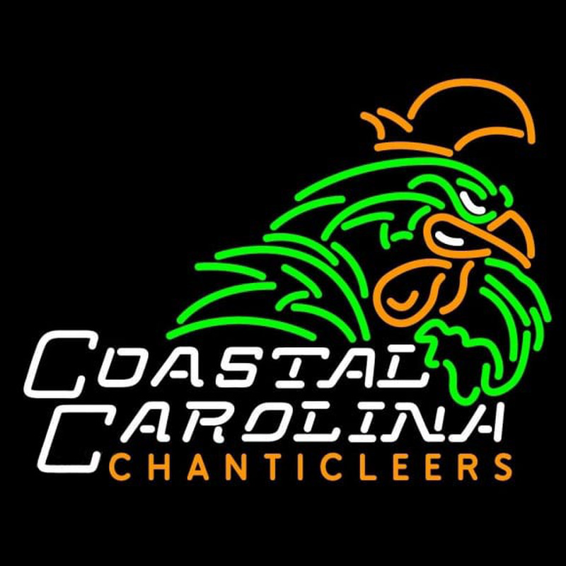 Coastal Carolina University Chanticleers Neon Sign Neon Sign