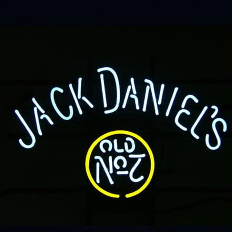 Jack Daniels #7 Whiskey Neon Sign