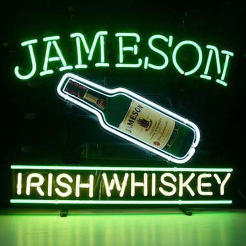 Jameson Irish Whiskey Neon Sign Neonsignsus Com