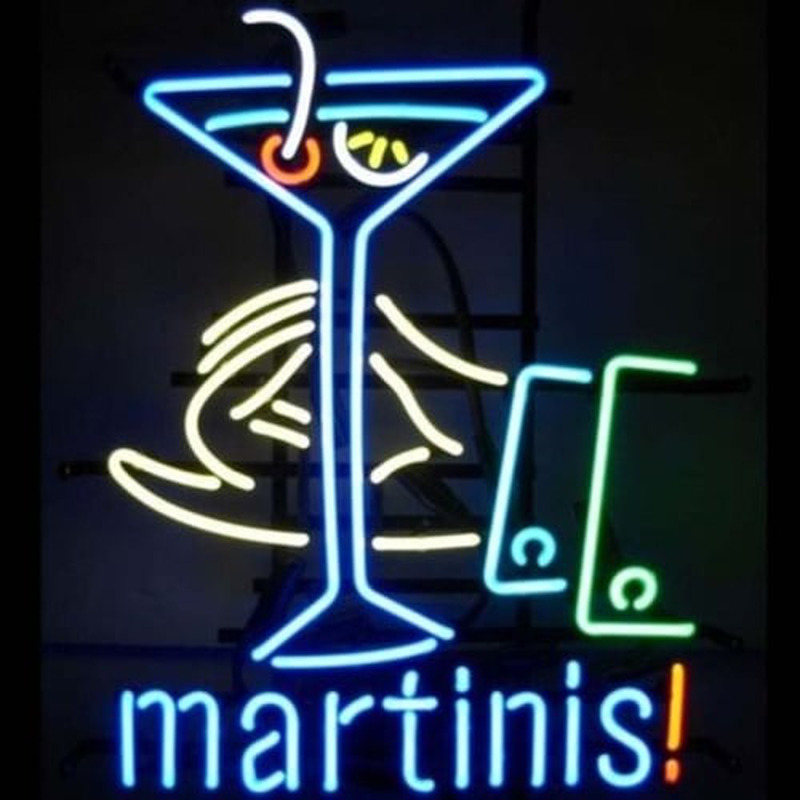 MARTINIS COCKTAIL Neon Sign