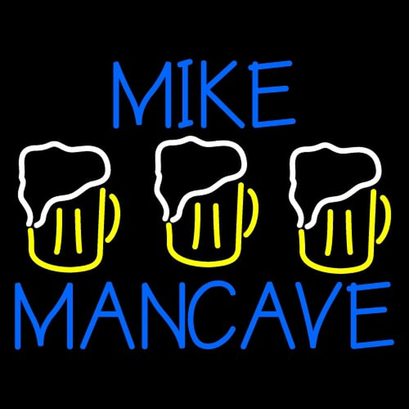 Mike Man Cave Neon Sign Neonsignsus Com