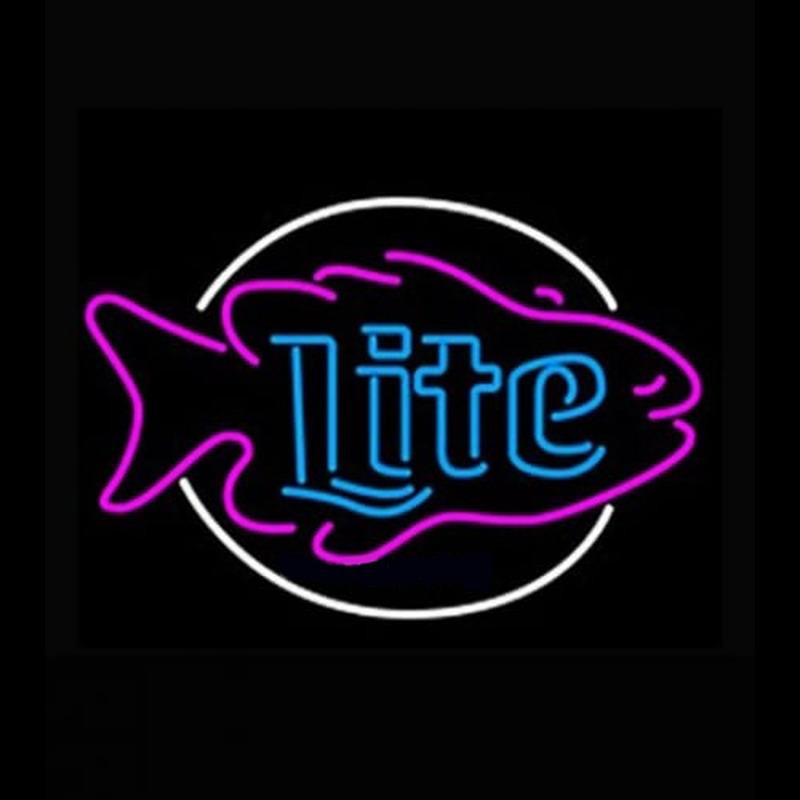Miller Lite Fish Neon Sign - NeonSignsUS.com - photo#23