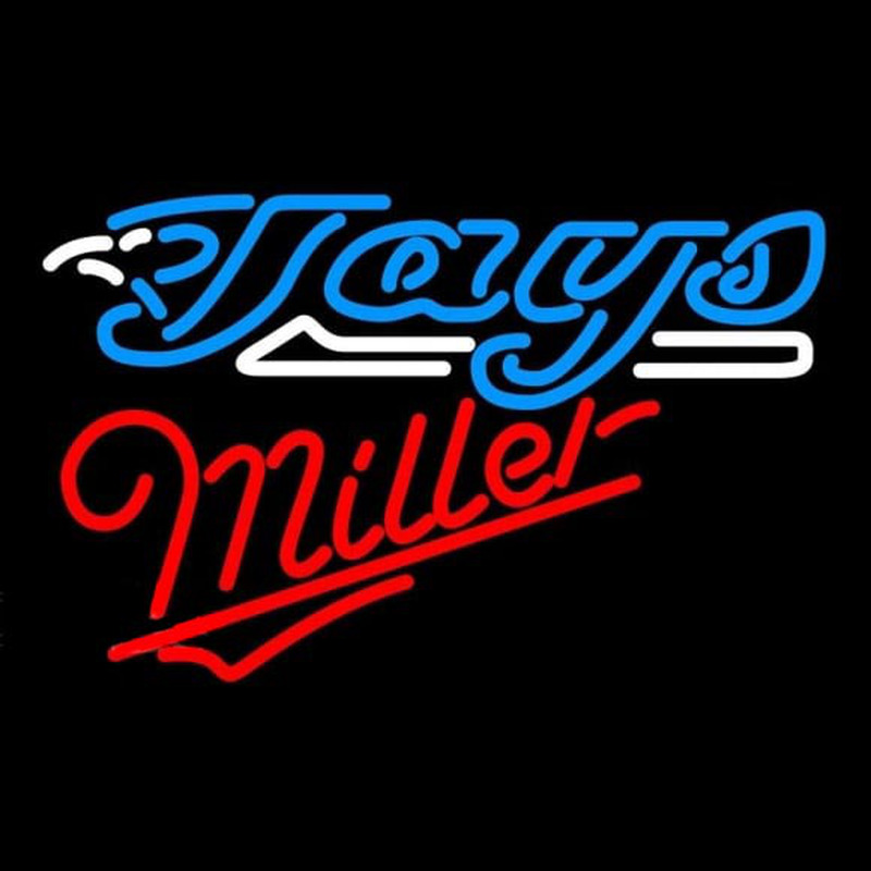 Miller Toronto Blue Jays MLB Beer Sign Neon Sign