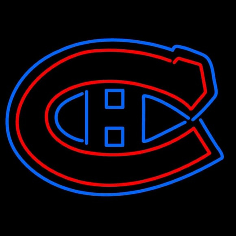 Montreal Canadiens Logo NHL Neon Sign Neon Sign