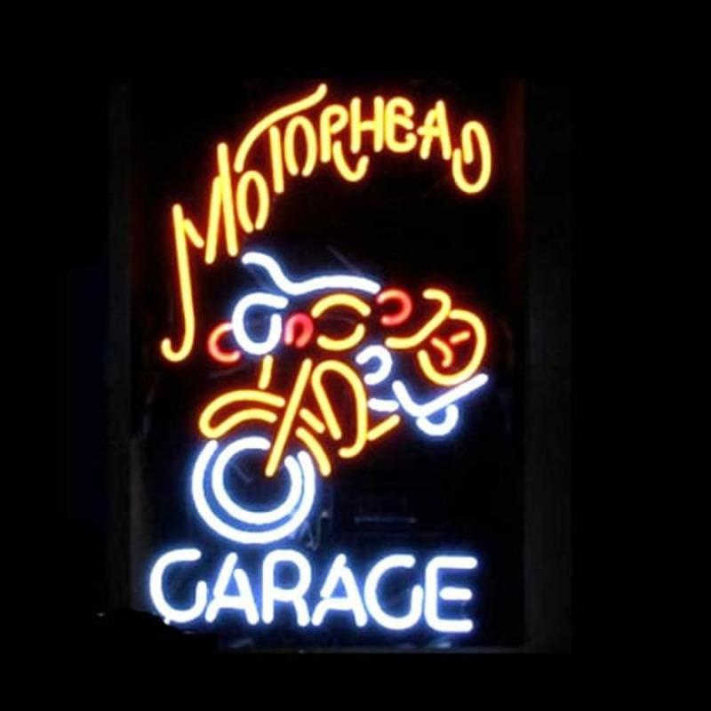 Motorhead Garage Neon Sign Neonsignsus Com