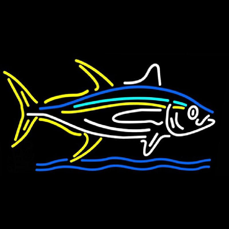 Multicolor Big Fish Neon Sign - NeonSignsUS.com - photo#15