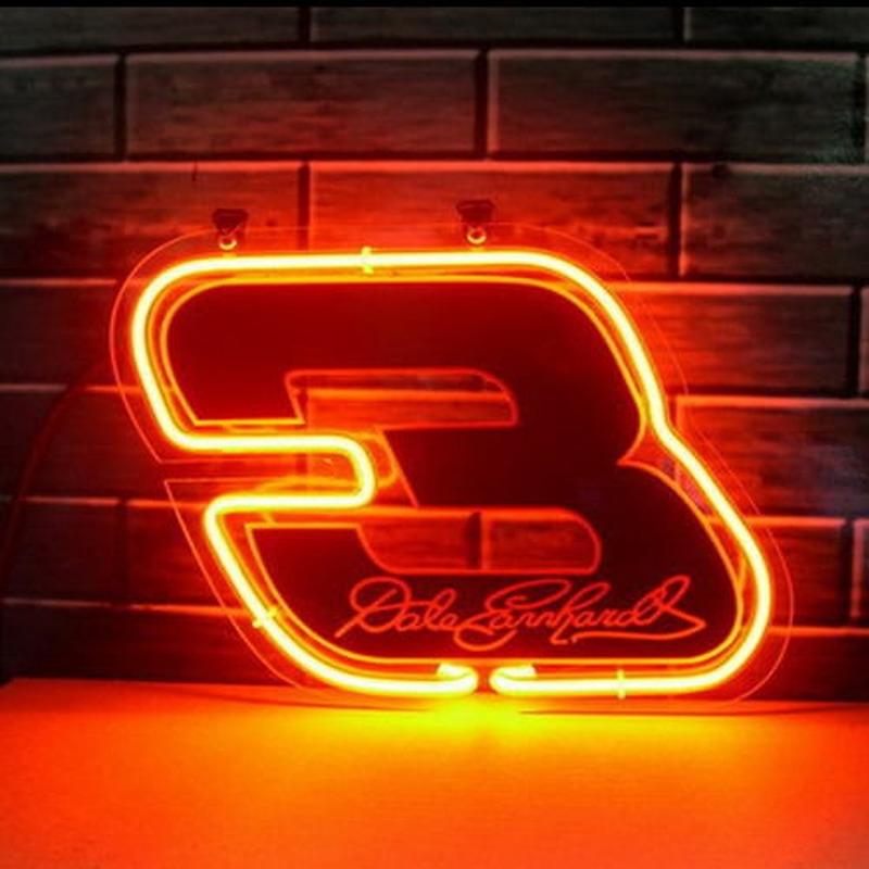 Nascar 3 Dale Earnhardt Neon Sign Neonsignsus Com