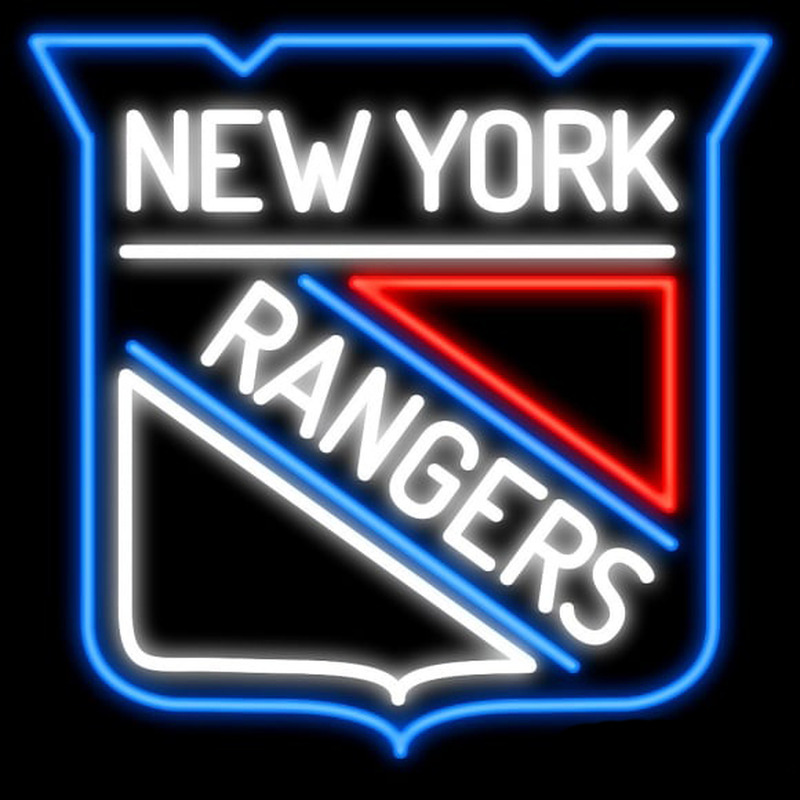 New York Rangers Real Neon Glass Tube Neon Signs Neon Sign