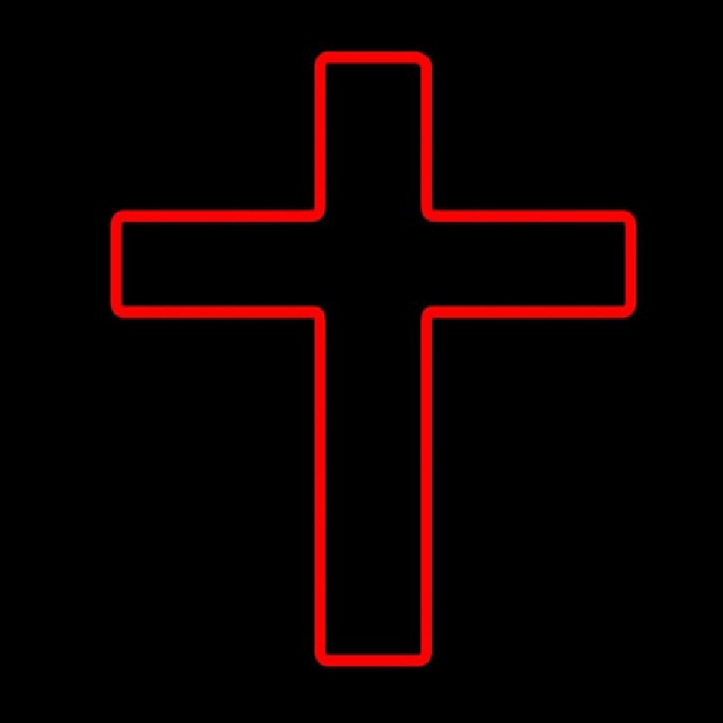 Red Cross Neon Sign