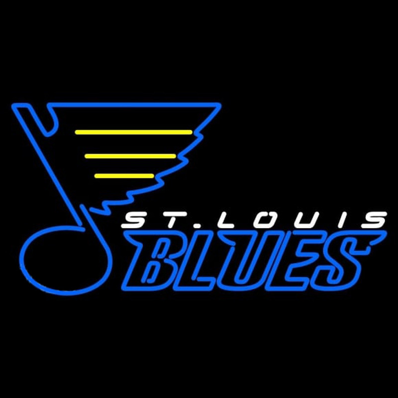 St Louis Blues Alternate 1998 99 Pres Logo NHL Neon Sign Neon Sign