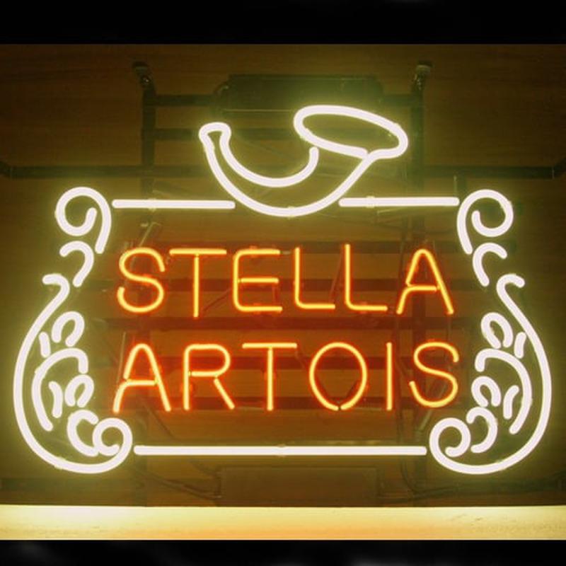 Stella Artois Belgian Lager Neon Sign Neonsignsus Com