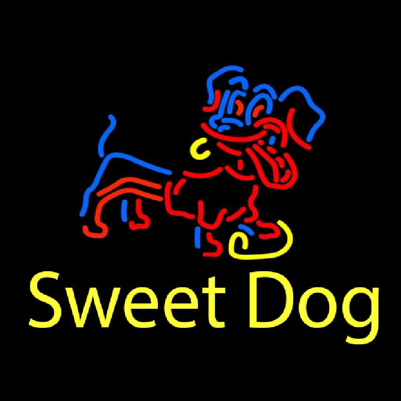Sweet Dog Neon Sign