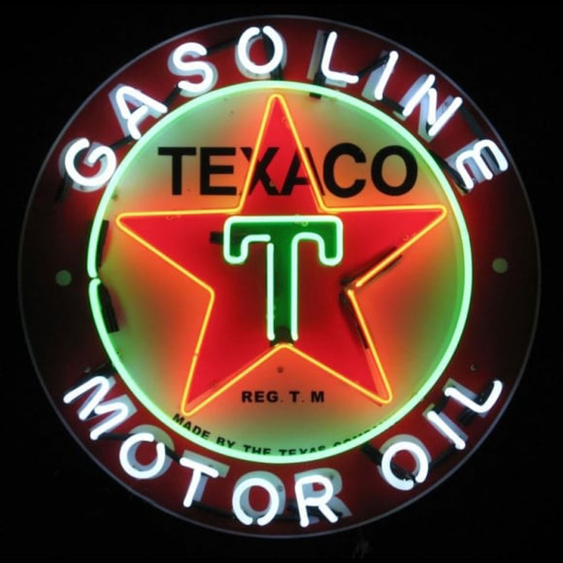 Te ico Gasoline Neon Sign