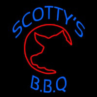 Scottys Bbq Neon Sign