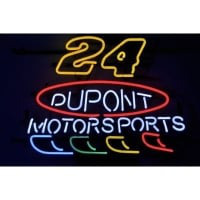 24 Dupont Motor Sports Neon Sign