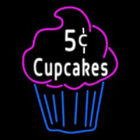 5c Cupcakes Neon Sign