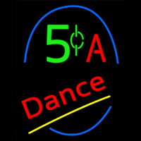 A Dance Neon Sign