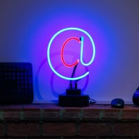 AT Desktop Neon Sign