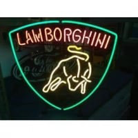 AUTO CAR LOGO Lamborghini Neon Sign