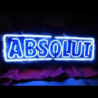 Absolute Vodka Neon Sign