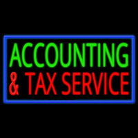 Accounting And Services Neon Sign