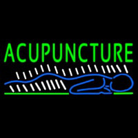 Acupuncture Body Neon Sign