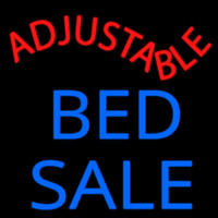 Adjust Able Bed Sale Neon Sign