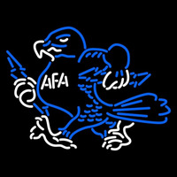 Air Force Falcons Mascot 1973 Pres Logo NCAA Neon Sign Neon Sign