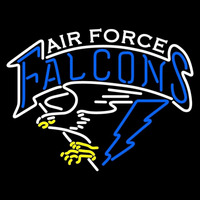 Air Force Falcons Primary 1995 2003 Logo NCAA Neon Sign Neon Sign