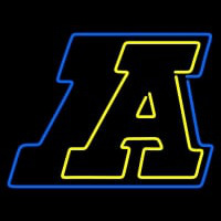 Akron Zips Primary Logo NCAA Neon Sign Neon Sign
