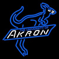 Akron Zips Primary Pres Logo NCAA Neon Sign Neon Sign