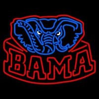 Alabama Crimson Tide Alternate Pres Logo NCAA Neon Sign Neon Sign