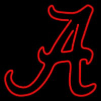 Alabama Crimson Tide Secondary Pres Logo NCAA Neon Sign Neon Sign