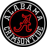Alabama Crimson Tide Team Neon Sign Neon Sign