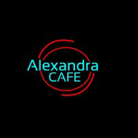 Ale andra Cafe Neon Sign
