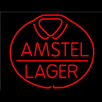 Amstel Lager Beer Neon Sign