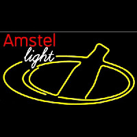 Amstel Light Bottle Beer Neon Sign