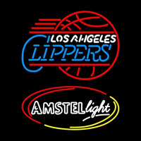 Amstel Light Los Angeles Clippers Beer Sign Neon Sign