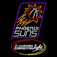 Amstel Light Phoenix Suns NBA Beer Sign Neon Sign