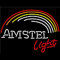 Amstel Light Rainbow Neon Sign