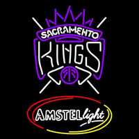 Amstel Light Sacramento Kings NBA Beer Sign Neon Sign