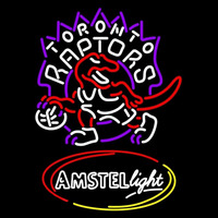 Amstel Light Toronto Raptors NBA Beer Sign Neon Sign