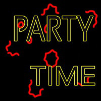 And Party Time Neon Sign