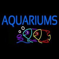 Aquariums Neon Sign