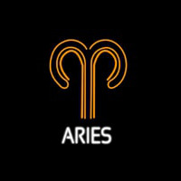 Aries Icon Neon Sign