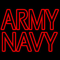 Army Navy Neon Sign