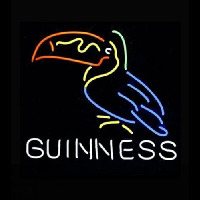 Art GUINNESS TOUCAN Neon Sign