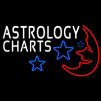 Astrology Charts Neon Sign
